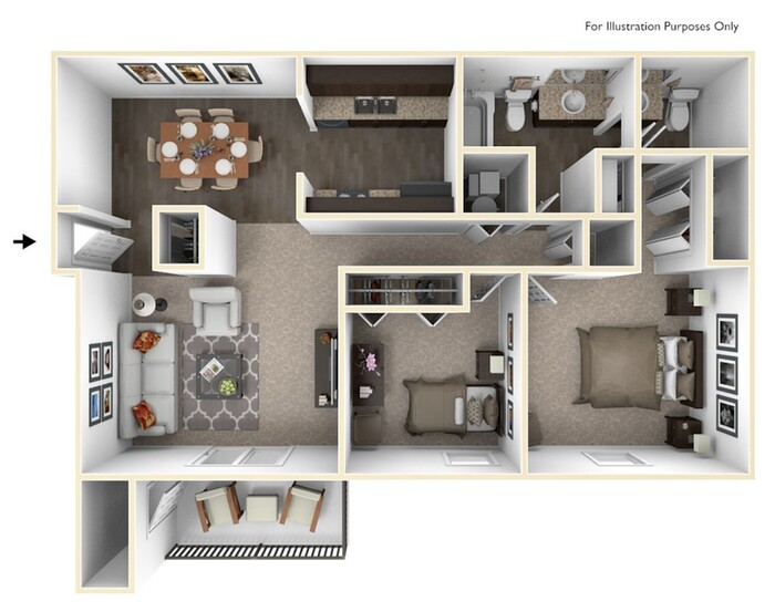 The Southwyck Floor Plan Image